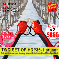 Li battery orchard secateurs best garden tools electric pruners(Reported by German Media)