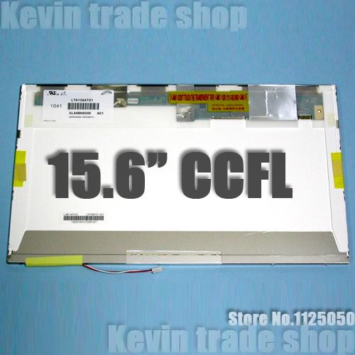 """Prix pour Livraison gratuite 15.6 """"ordinateur portable LCD Écran LTN156AT01 C01 F01 L01 S03 W01 001 A01 B01 B03 LVDS VÉRITABLE CCFL 1366x768"""