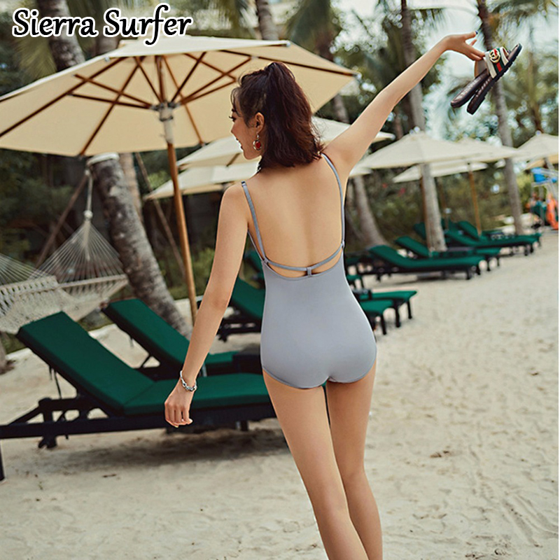 One Piece Baths Women's Swimsuits Swimwear Ladies Sexy Swim Suits Womens Suit Woman Beach 2018 New Swimsuit Bathing Triangle one piece swimsuit cheap sexy bathing suits may beach girls large size swimsuits 2017 swim suit ladies high waist new underwire