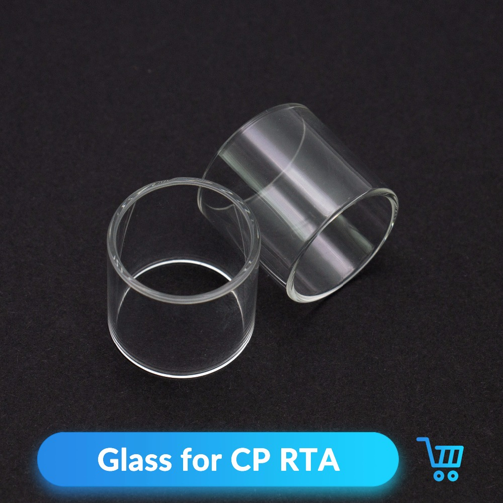 Volcanee 2pcs CP RTA Glass 2 5ml for CP RTA 510 Tank Spare