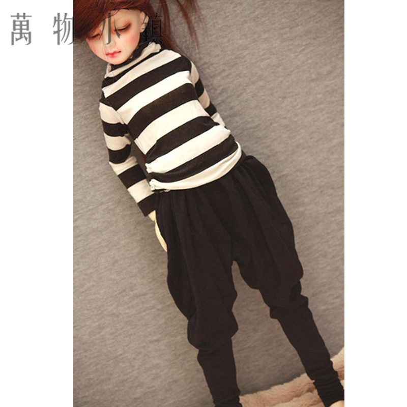 Accept custom Cool Casual Style Stripe Shirt And Pant BJD 1//3 1//4 SD13 Clothes