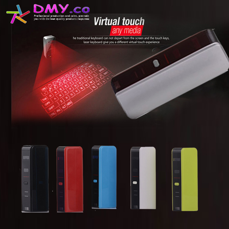 Mini Virtual Projection Laser Keyboard Wireless Bluetooth USB For Windows XP Vista 7 8 IOS Android