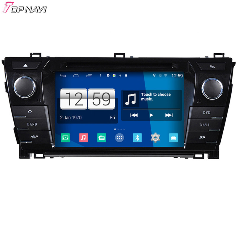 "Winca 7"" Quad Core S160 Android 4.4 Car DVD Multimedia For Toyota Corolla 2014 With GPS Stereo Radio Mirror Link 16Gb Flash"
