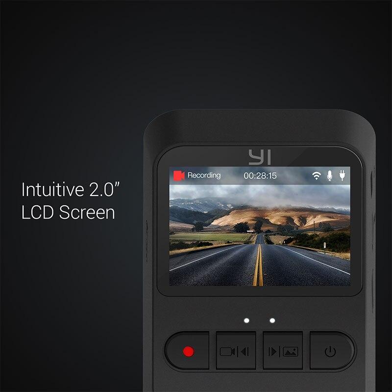 YI Mini Dash Cam 1080p FHD Dashboard Video Recorder Wi-Fi Auto DVR Kamera mit 140 Grad weitwinkel objektiv Nachtsicht G-Sensor