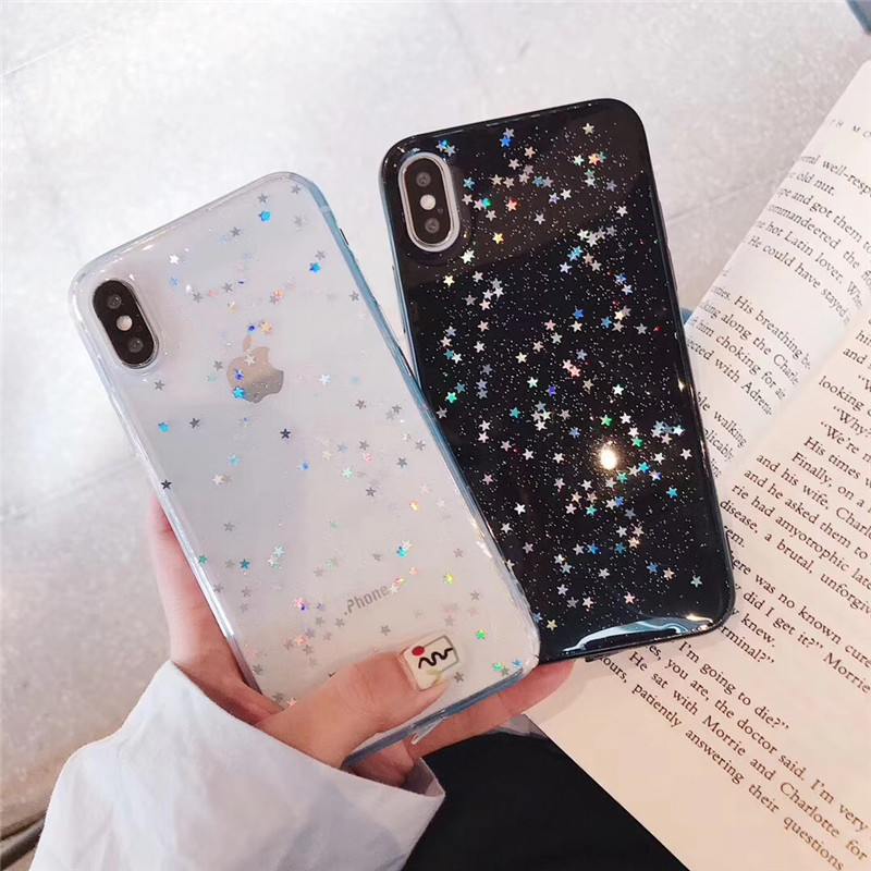 Bling Sequin Satar <font><b>case</b></font> For <font><b>Samsung</b></font> Galaxy S10 Lite S9 S8 S7 Note 9 Cover for <font><b>Samsung</b></font> J3 J5 J7 <font><b>2017</b></font> <font><b>A6</b></font> A8 A7 A9 2018 J4 plus J6 image