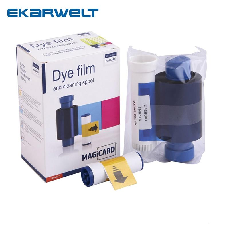 MA300 Color Ribbon For Magicard Enduro Rio Pro Pronto printers MA300YMCKO color ribbon dye film