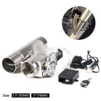 Patented Product jdm 2.5 3 Electric Exhaust Dump Cutout E cut Out Bypass Switch Dual Valve System