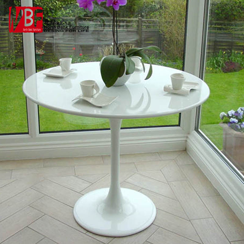 Modern minimalist small round table round dining table sets IKEA ...