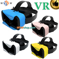 "VR Shinecon III Virtual Reality Video Glasses 3D Movie Smartphone Game 3D Glasses Helmet 3D VR Google Cardboard 3-6"" Smart Phone"