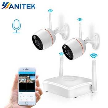 Yanitek H.265 CCTV Security Camera System HD 1080P Wifi Mini NVR Kit Video Surveillance Home Wireless IP Camera Audio Outdoor - DISCOUNT ITEM  20% OFF All Category