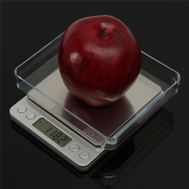 Kitchen Scales 3000g x 0.1g Mini Portable Digital for Pocket Scale 3kg 0.1 Precision Jewelry Electronic Balance Weight Gold Gram