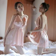 95c27e807be7 Para mujeres Sexy Lencería Sleepshirts Lencería Tanga Babydoll ropa  interior ropa de dormir traje de vestido negro blanco rojo r.