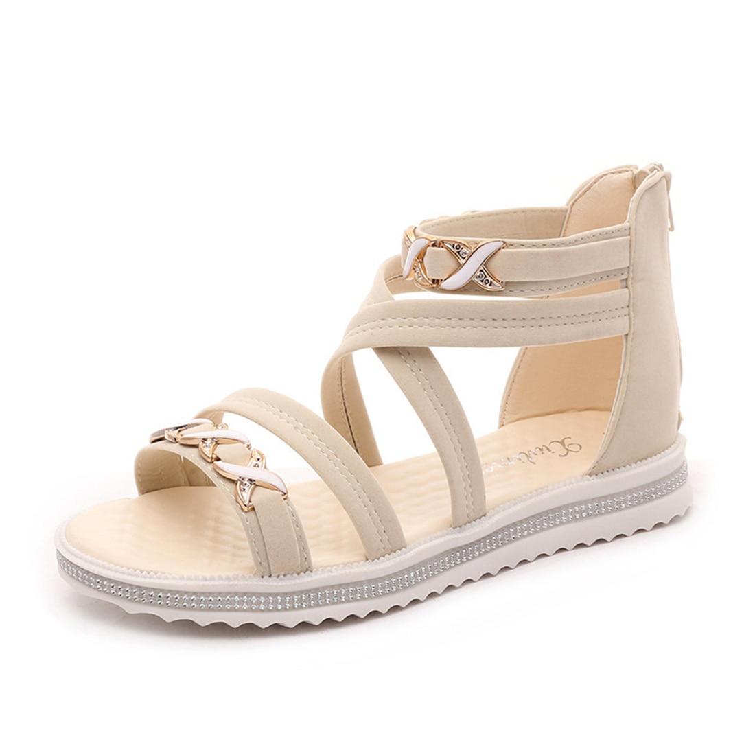 Fantastic Aliexpress.com  Buy 2017 Summer Flat Sandals Women Shoes New Luxury Owl Rhinestone Women ...