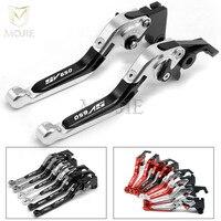 LOGO SV650 For SUZUKI SV650 SV 650 2016 Motorcycle Accessories Adjustable Folding Extendable Brake Clutch Levers