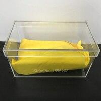Clear Plastic Acrylic Organizers Dresser Underwear Baby Cloth Box Dresser Organizer For Underwear Bras Socks Ties Scarves Toys