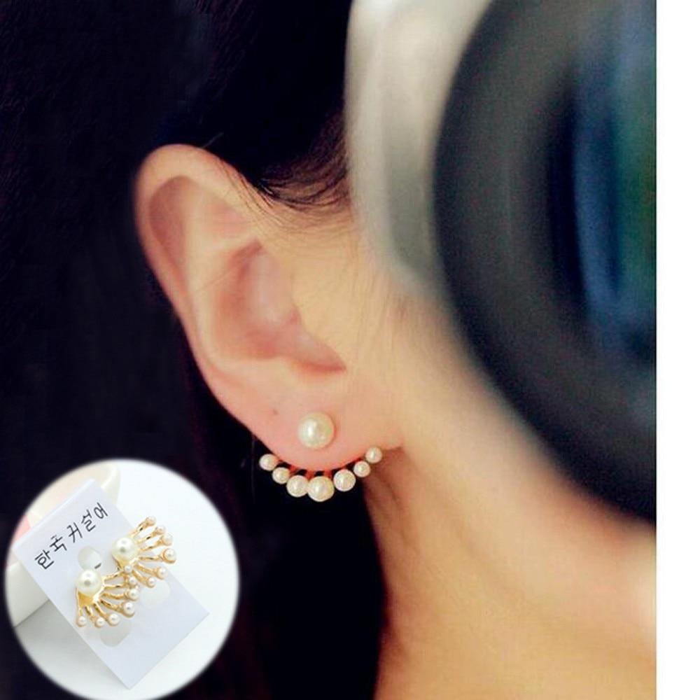 2016 Fashion Delicate Joker Little Pearl Pretty Nifty Stud Earrings, Korean  Beautiful Girl Imitation Pearl