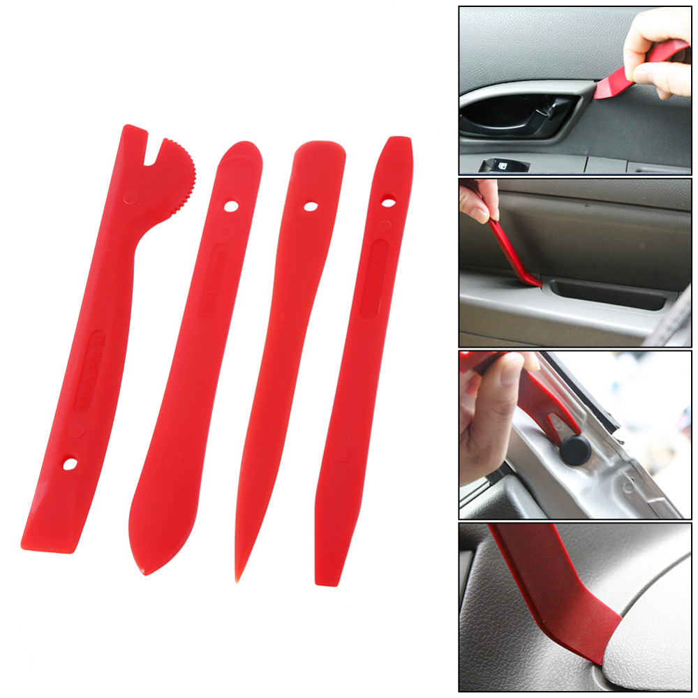 11pcs/Set Professional Car Door Trim Panel Dash Audio Stereo GPS Molding Removal Tools