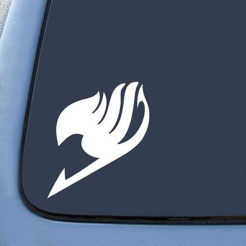 "Intellective Bargain Max Fairy Tail Logo Car Sticker Vinyl Die Cut Decal Notebook Car Laptop 5.5"" (white) Snowboard Vinyl Stickers/stickers"