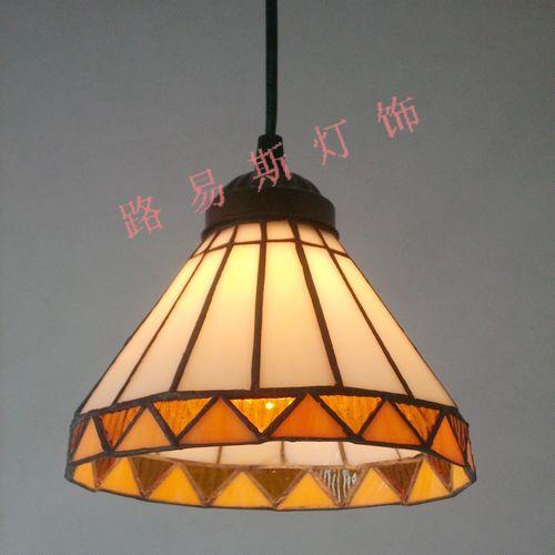 ФОТО Minimalist modern restaurant chandelier Tiffany windows and a small sink Chinese fashion glass lighting fixtures