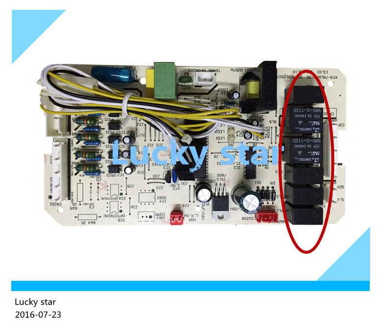 ФОТО 95% new for Air conditioning computer board circuit board KFR-120W/S-510 KFR-75LW/E-30 PC board good working