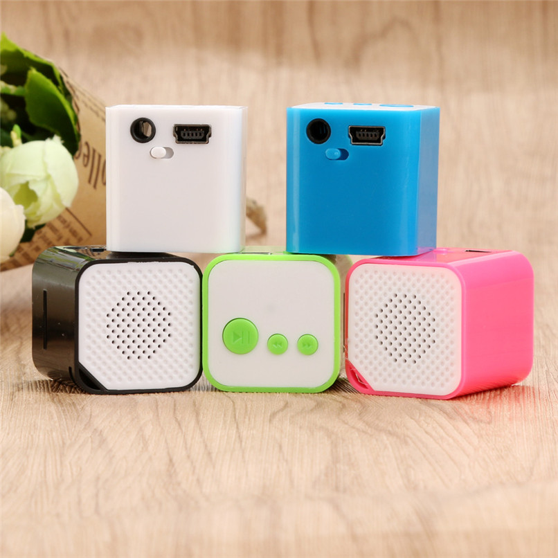 2017 High Quality Sound Portable USB MP3 Mini Music Player Support Micro SD TF Card Music