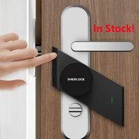 Sherlock S2 Smart Door Lock Home Keyless Lock Easy Installation Electronic Door Lock Wireless App Bluetooth Control
