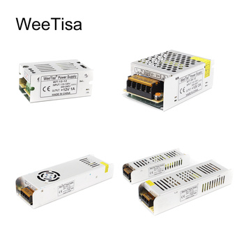 цена на 12V Power Supply Unit Lighting Transformer 60W 200W 360W LED Driver AC110V 220V to 12 Volt for LED Strip Switching Power Adapter