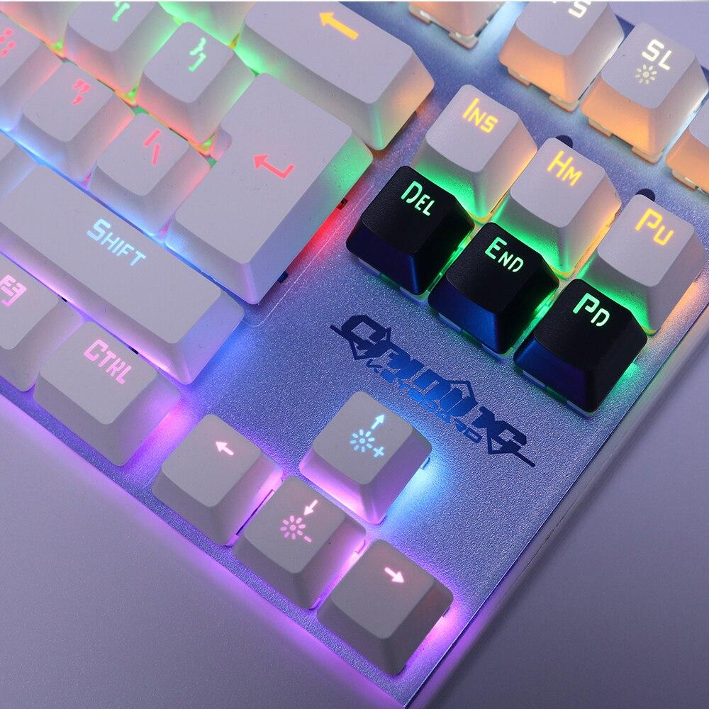 Echt mechanisch toetsenbord met achtergrondverlichting Gaming - Computerrandapparatuur - Foto 4