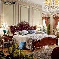 Procare 5 star роскошный номер alibaba Китай естественным деревянные спальные гарнитуры дизайн 6036