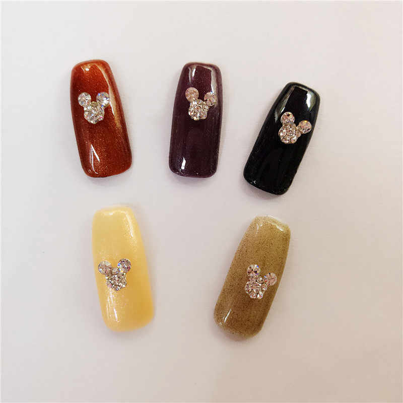 ... 10 PCS bag In 3D Nail Art Rhinestone Charm Mickey Mouse On Adornment Sparkling  Rhinestone ... f80aa089a59c