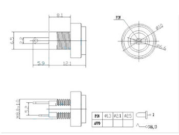 20 шт. 2,1 мм X 5,5 мм ролик для HP DC разъем для зарядного устройства PLUG-SMALL