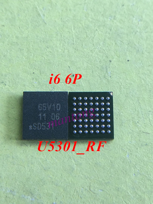 2pcs/lot Original for iphone 6 6Plus U5301_RF IC 65V10 Controller IC / NFC control ic chip ...