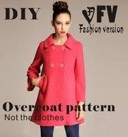 Одежда для рукоделия, Шинель для шитья, узор для шитья, шаблоны для нарезки, BFY-15 для рисования