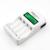 Universal c907w pantalla lcd inteligente cargador de batería inteligente con 4 unids aa 3000 mah + 4 unids aaa 1100 mah 3000 mah baterías