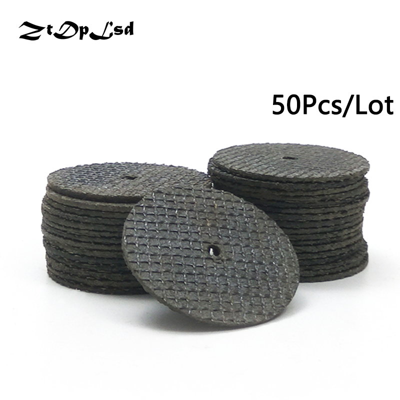 ZtDpLsd 50Pc/Set 38MM Metal Cutting Disc Dremel Grinder Rotary Tool Circular Saw Blade Wheel Cutting Sanding Disc Grinding Wheel