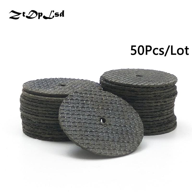 ZtDpLsd 50Pc/Set 38MM Metal Cutting Disc Dremel Grinder Rotary Tool Circular Saw Blade Wheel Cutting Sanding Disc Grinding Wheel