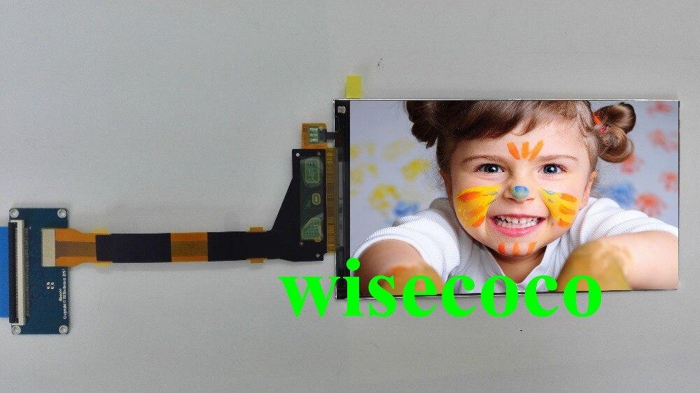 Оригинальный Новый + 5,5 дюймов LS055R1SX04 1440 (RGB) x2560 высокого разрешения с MIPI 50pin для 3D принтер/видеопроектор