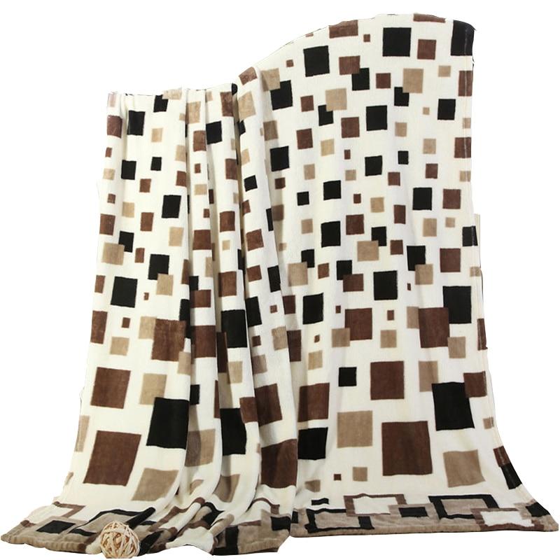 Felne pokrivač koralja runo odrasli uzorak ispis Mink bacanje - Tekstil za kućanstvo
