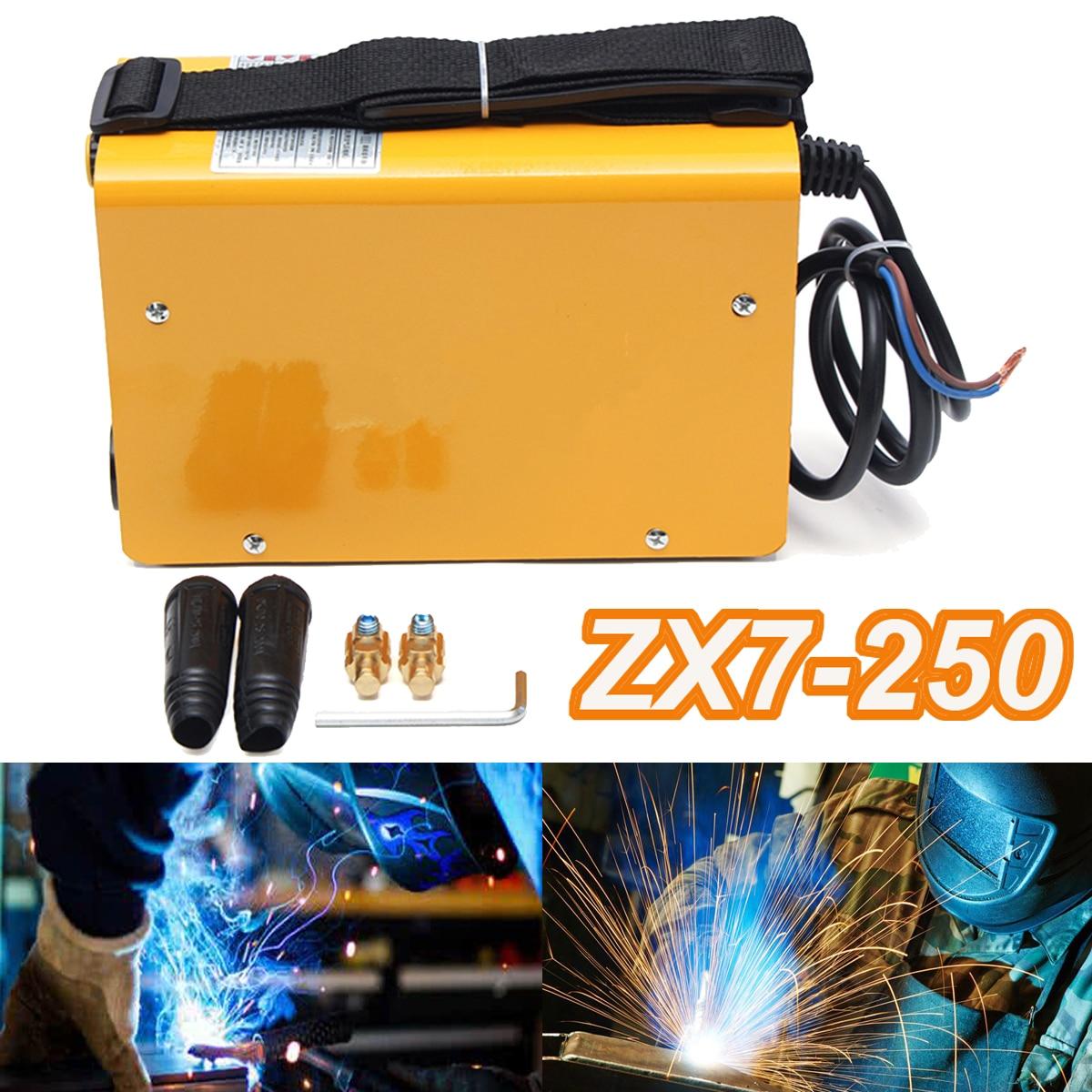 ZX7-250 220 v Mini Électrique Machine De Soudage Portable Soudure 40 w 20-250A IGBT Onduleur À Souder Outil ARC De Soudage de Travail