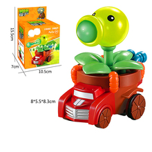 NEW Plants vs. Zombie Pull Back Car Toy Pullback Model Childrens Toys with Original Box