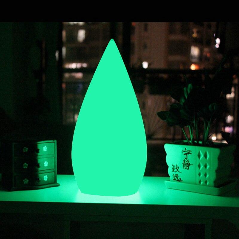 Skybesstech D16*H34cm Luminosa Table Lamps Decorativas iluminadas Water Drop Lamps Waterproof IP68 SK-LF05 Free Ship 10pcs/lotSkybesstech D16*H34cm Luminosa Table Lamps Decorativas iluminadas Water Drop Lamps Waterproof IP68 SK-LF05 Free Ship 10pcs/lot