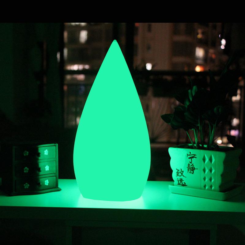 Skybesstech D16*H34cm Luminosa Table Lamps Decorativas iluminadas Water Drop Lamps Waterproof IP68 SK-LF05 Free Ship 10pcs/lot