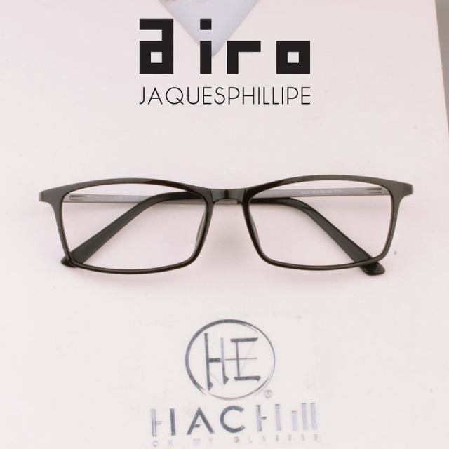 Estilo delgado Ultra Ligero Anteojos Fama Flexible Moda Gafas Mujeres Hombres de Acero De Plástico Ultem Marcos Ópticos con Lentes Transparentes