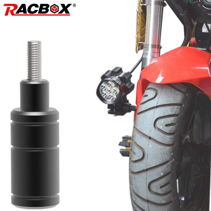 Extension Bar Bracket Universal Motorcycle Headlight Bracket LED Lamp Spotlight Modification Accessories Off-Road Moto Light