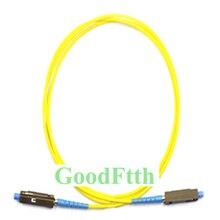 Fiber yama kablosu bağlantı kablosu MU MU UPC MU/UPC MU/UPC SM Simplex GoodFtth 100 500m