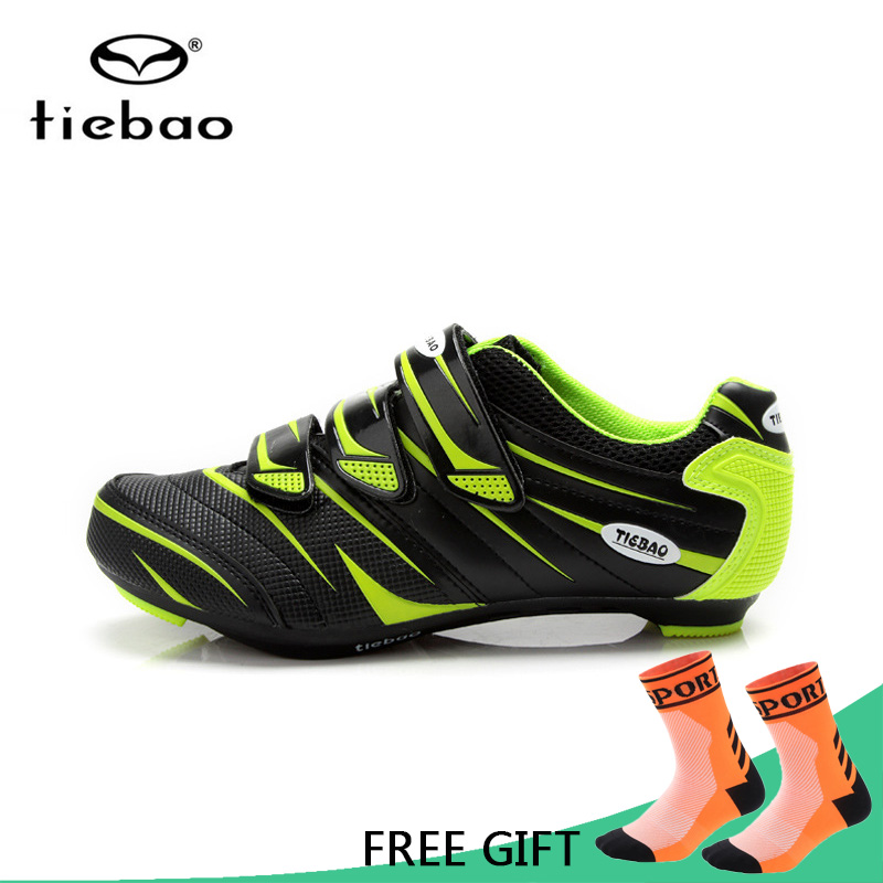 Tiebao Professional Bicycle Cycling Shoes Men Women Road Bike Self-Locking Shoes Breathable Nylon-Fibreglass Sport ShoesTiebao Professional Bicycle Cycling Shoes Men Women Road Bike Self-Locking Shoes Breathable Nylon-Fibreglass Sport Shoes