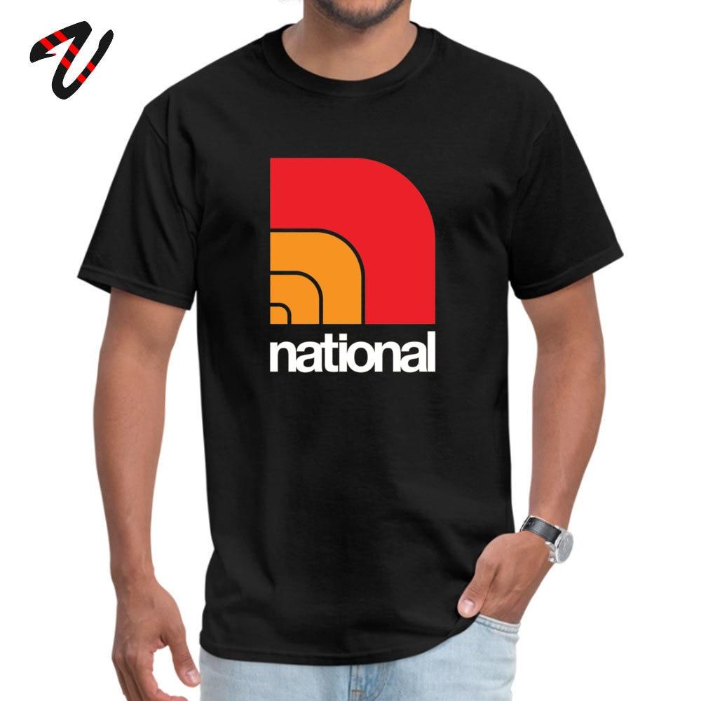 Cool National T Shirts Retro Summer Short Sleeve O Neck Tops Shirts 100% Cotton Men Printing Tops T Shirt Wholesale National -12519 black
