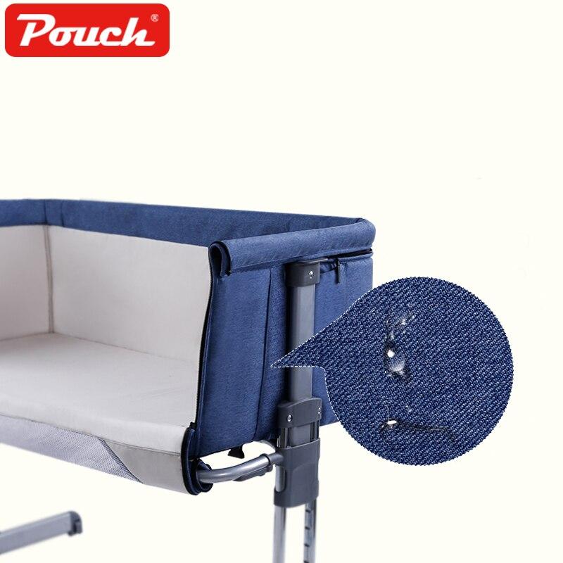 Beutel Babybett Klappbett mit Rolle Reisebett Tragbar Bequem zu - Babymöbel - Foto 3