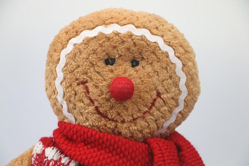 Gingerbread Man plush საშობაო საჩუქარი - პლუშები სათამაშოები - ფოტო 3
