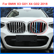 Car Styling Stickers For BMW X3 G01 X4 G02 2018 Accessories Front Grilles Bumper Covers Motorsport M Performance Power 3 colors puma bmw motorsport backpack